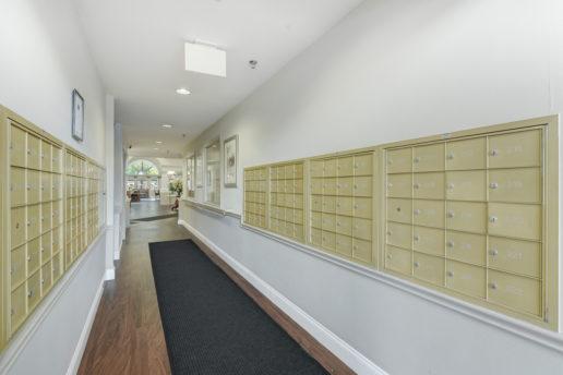 mailbox hallway